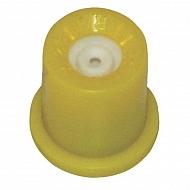 TR8002 Dysza o pustym stożku TR 80° żółta, ceramiczna