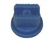 LU12003POM Dysza płaskostrumieniowa LU 120° niebieska tworzywo sztucznego