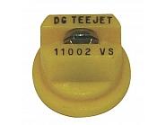 DG11002VS Dysza płaskostrumieniowa DG 110° żółta V2A, nierdzewna