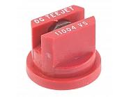 DG11004VS Dysza płaskostrumieniowa DG 110° czerwona V2A, nierdzewna