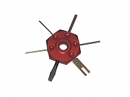 TE224 Urządzenie do montażu wtyczek Midlock, 25 mm