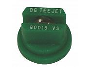 DG110015VS Dysza płaskostrumieniowa DG 110° zielona V2A, nierdzewna, zielona