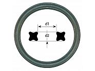 XR074102P001 Pierścień X-ring kwadrat 0,74x1,02 mm