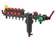 6280471CKU02 Zawór sterujący 5-sekcyjny, z kompensacją ciśnienia z filtrem i sekcją