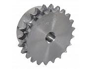 """SD1219 Koło łańcuchowe standard. DIN 8187 podwójne 1/2"""" x 5/16"""", 19 zębów"""