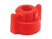 40290203 Pokrywka dyszy 10 mm czerwona