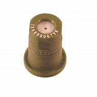TXA800067VK Dysza o pustym stożku TXA 80° brązowa ceramiczna