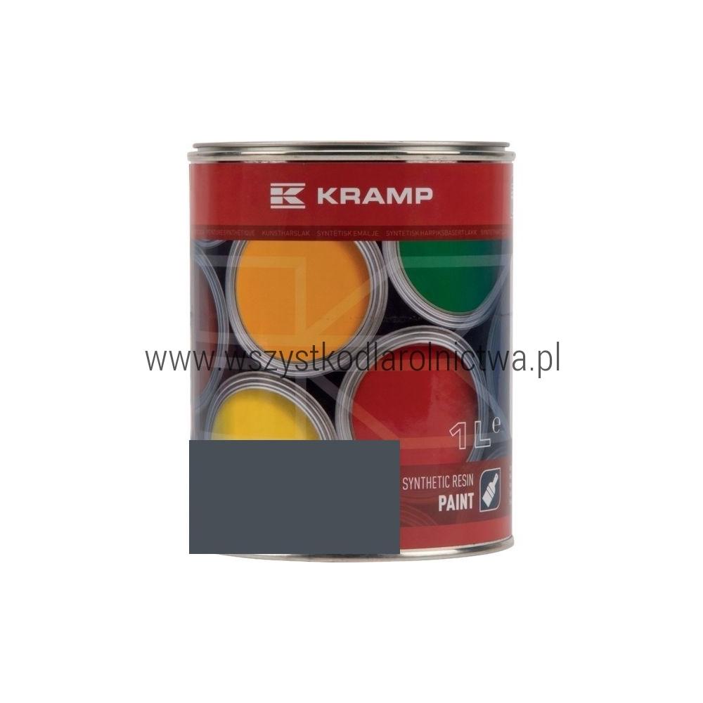 701108KR Lakier, farba do maszyn RAL 7011, RAL7011,  szary stalowy, szara stalowa, 1L