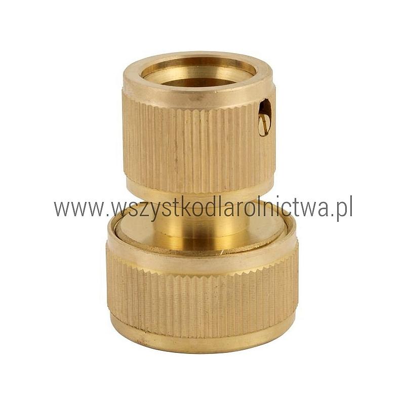 """1731128029 Szybkozłącza przelotowa mosiężna, 3/4"""" DY8029C"""