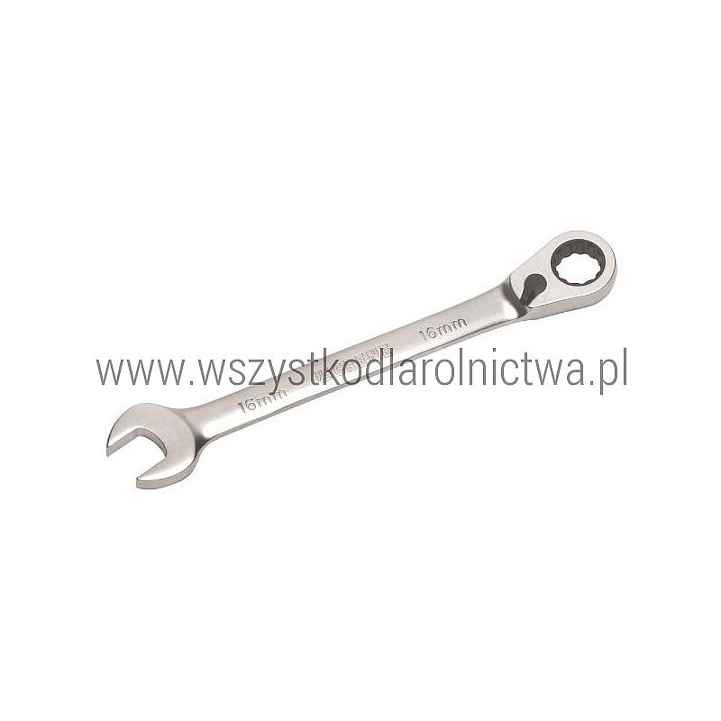 1802030009 Klucz płasko-oczkowy z grzechotką Grene, 9 mm