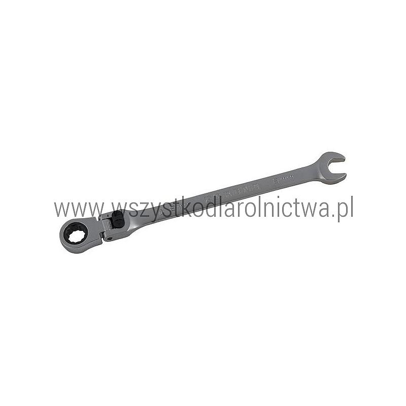 1802035008GR Klucz płasko-oczkowy przegubowy z grzechotką Grene, 8 mm