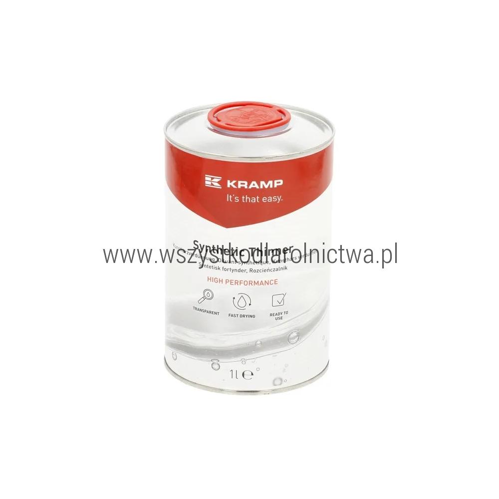 Rozcieńczalnik na bazie żywicy Kramp, 1 L