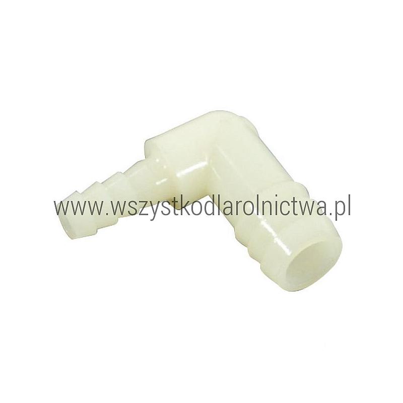 """33EL1214HB Złączka do węża kątowa 90° Hypro, 1/2 x 1/4"""" (13 mm - 6 mm)"""