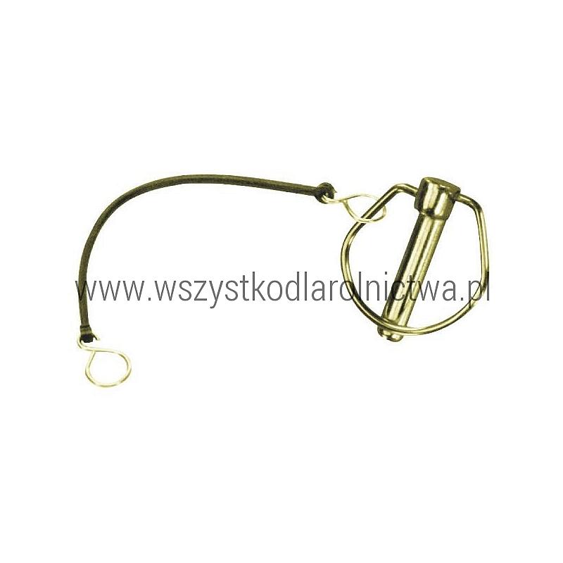 LP4SAKR Zawleczka, 4,5 mm z zabezpieczeniem elastycznym 195 mm
