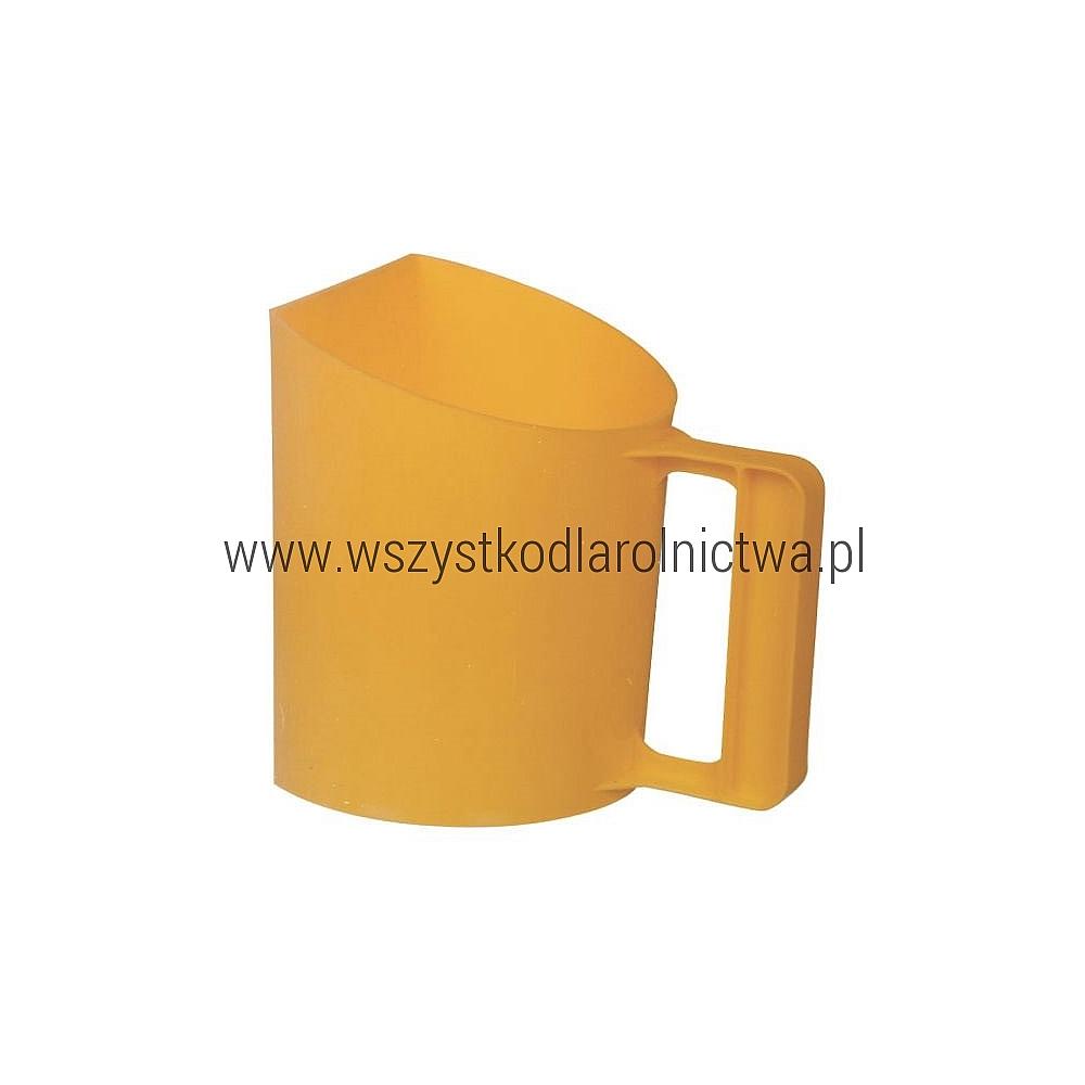 VV9320 Szufla do paszy - żółta - tworzywo sztuczne