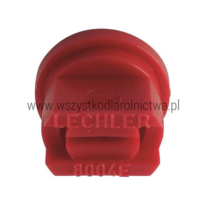 ES8004POM Dysza płaskost. ES 80° czerwony K