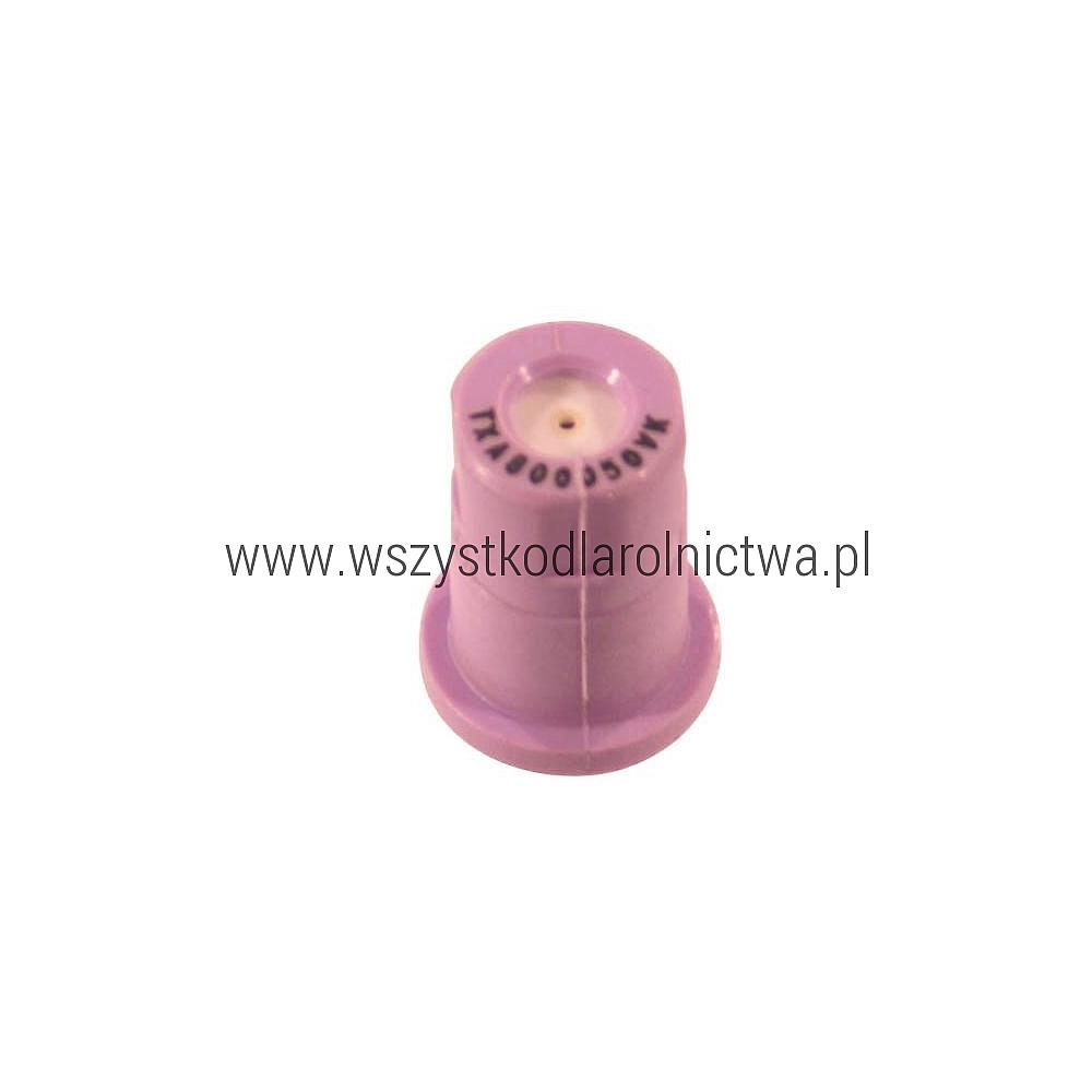 TXA800050VK Dysza pusty stożek TXA 80° fiolet ceramiczny