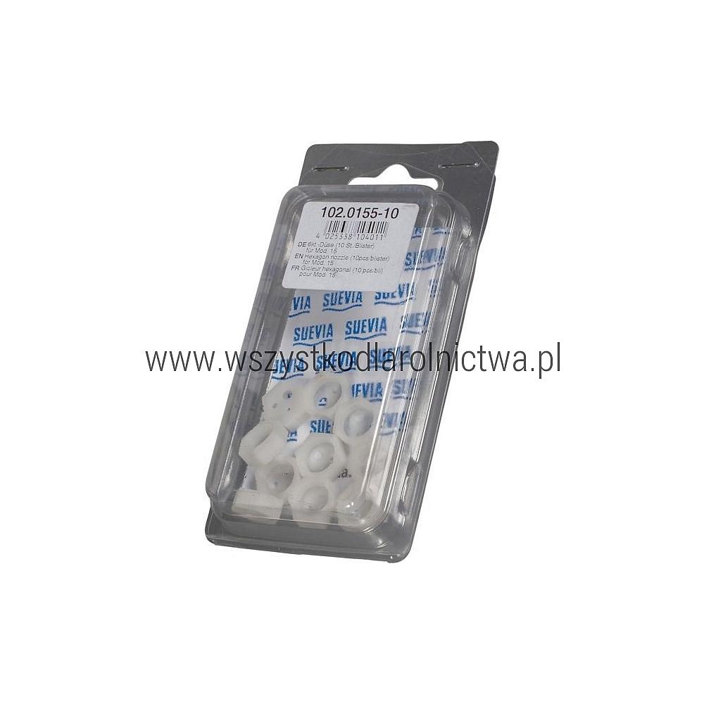 SU102015510 Dysza 6-kątna (10szt./blister)