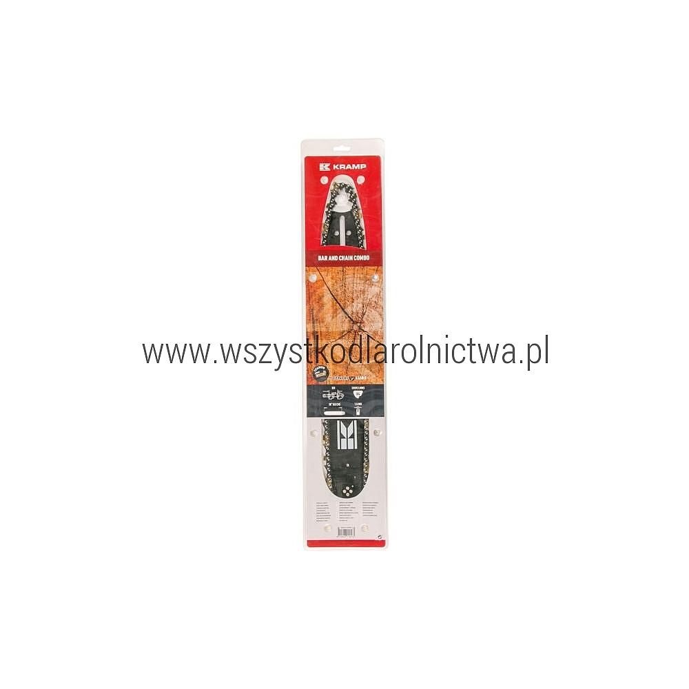 "1838156411095KR Zestaw 18""/45cm - 3/8"" 1,5mm 64 ogniwa"