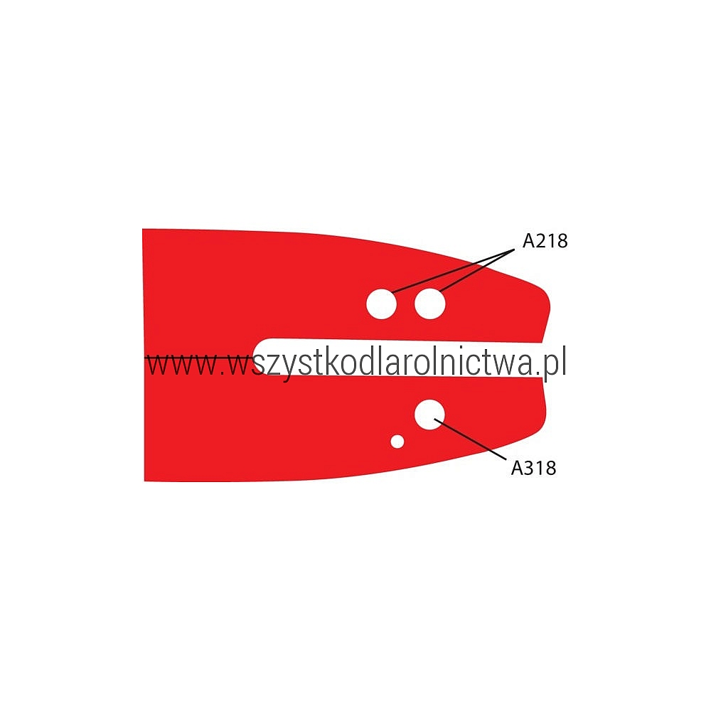 "542316 Prowadnica PowerSharp 16"" A318"