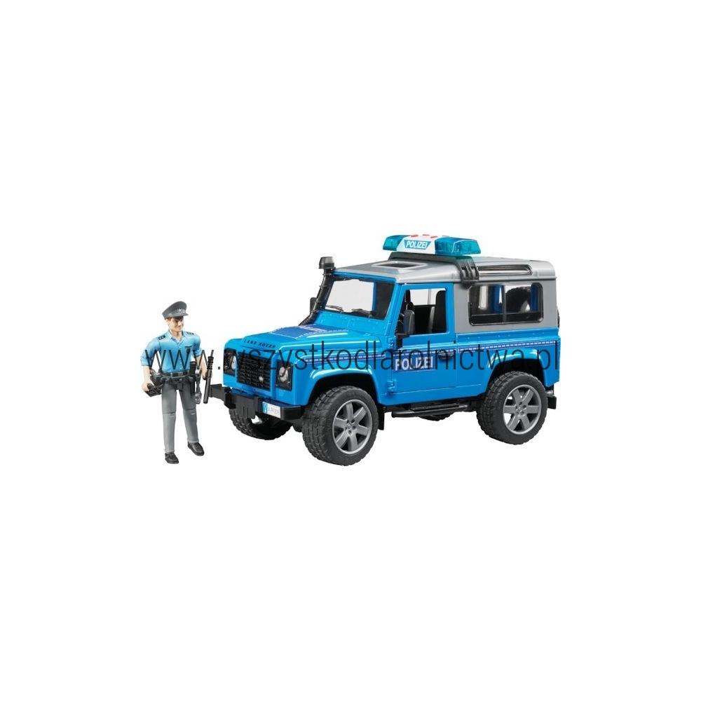 U02597 Policja Land Rover Defender
