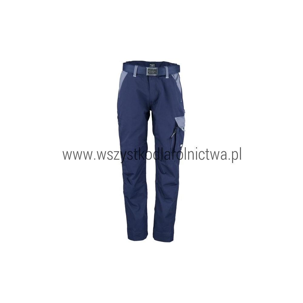 KW102030091114 Spodnie robocze granatowo-szare 2XL, Kramp Original