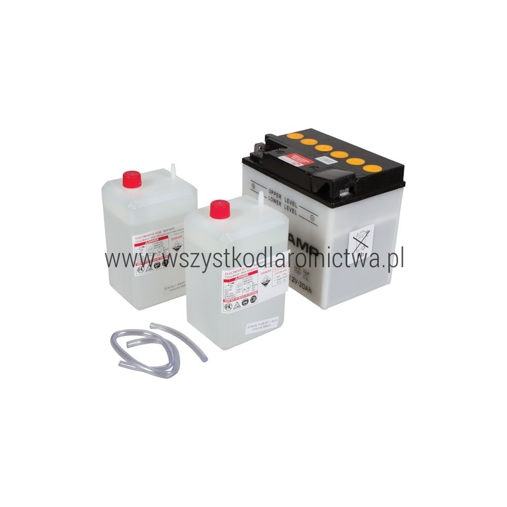 Y60N30AKR Akumulator motocyklowy, 12 V, 30Ah, z elektrolitem