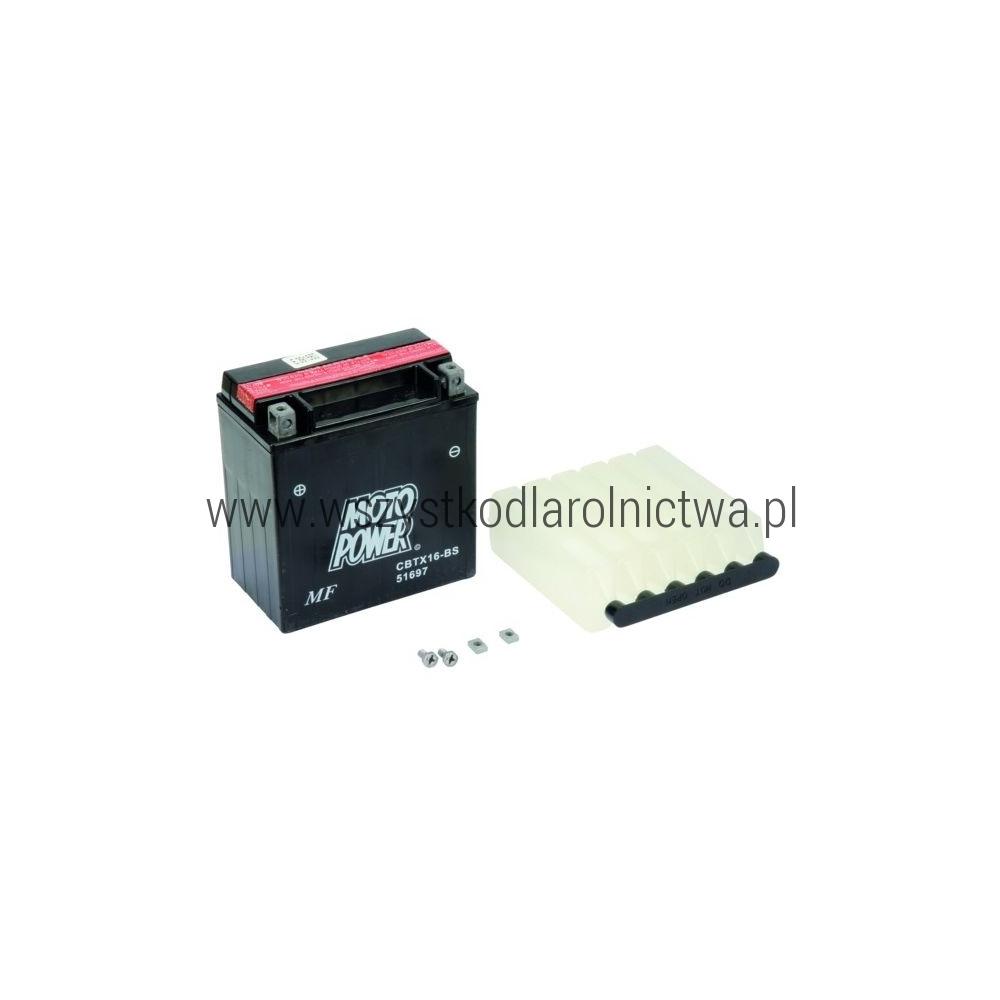 YTX16BSKR Akumulator motocyklowy, 12 V, 14 Ah, z elektrolitem