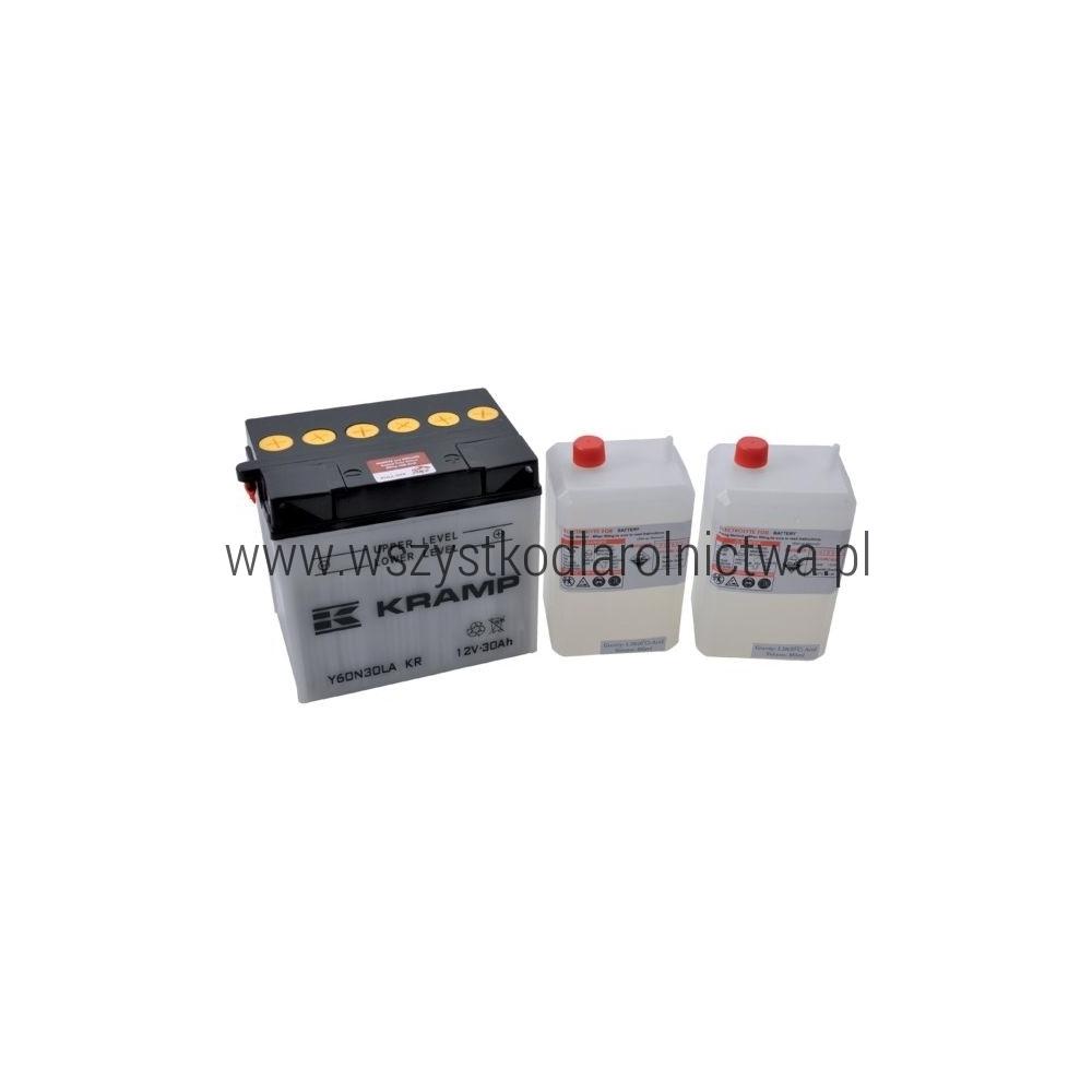 Y60N30LAKR Akumulator motocyklowy, 12 V, 30 Ah, z elektrolitem