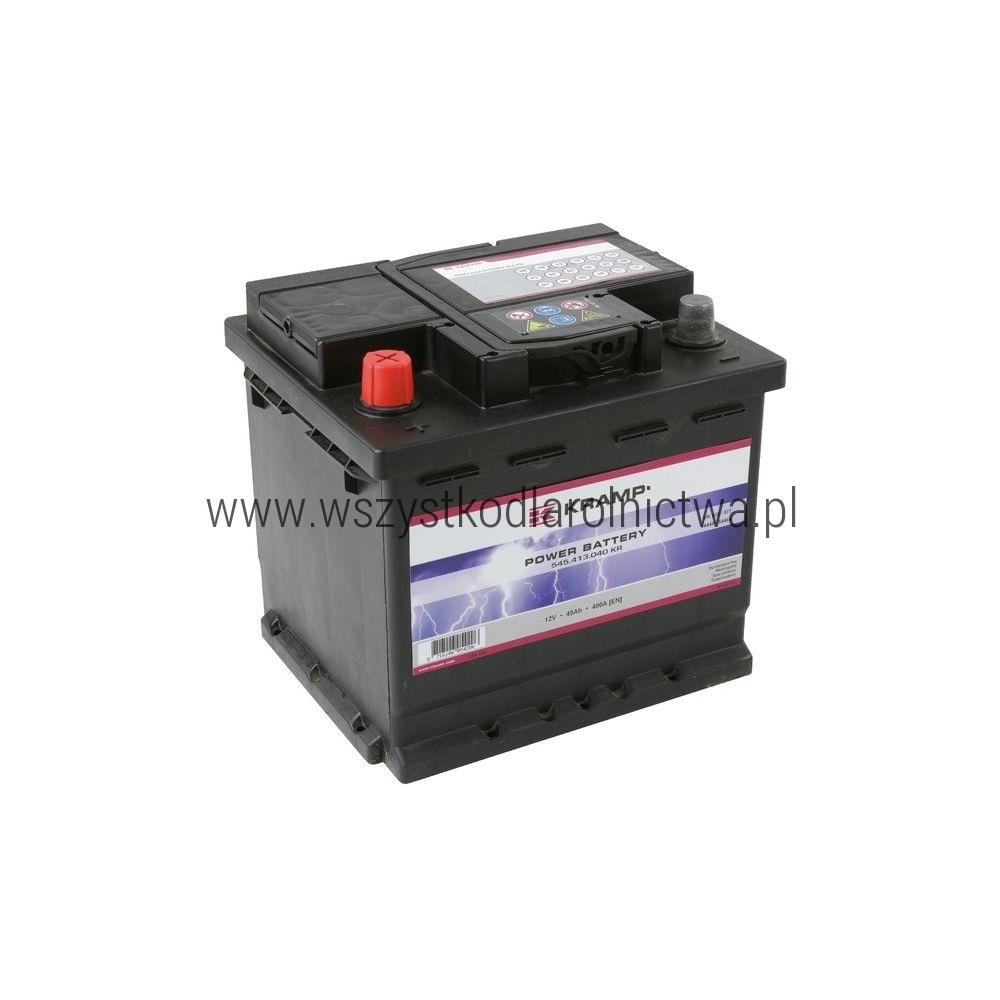 545413040KR Akumulator Kramp, 12 V, 45 Ah, napełniony