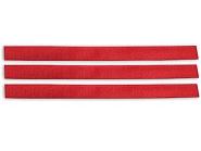 VV8131 Opaska do znakowania bydła na rzep, czerwona 36 cm