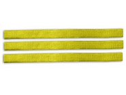 VV8128 Opaska do znakowania bydła na rzep, żółta 36 cm