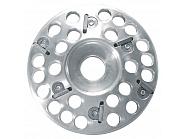 HUW34008 Tarcza do korekcji racic, aluminiowa, 6 ostrzowa, 120 mm
