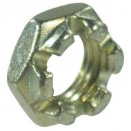 9371215P001 Nakrętka koronowa niska, drobnozwojna DIN937 stalowa ocynk kl. 8 M12x1,50 Kramp