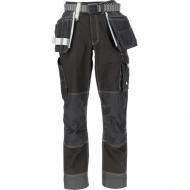 KW202550201128 Spodnie robocze Technical, czarne 4XL
