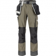 KW202550202128 Spodnie robocze Technical, oliwkowe 4XL