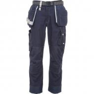 KW202550236128 Spodnie robocze Technical, granatowe 4XL