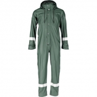 KW3182325066 Kombinezon przeciwdeszczowy Protect, zielony 4XL