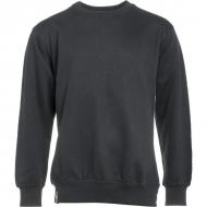 KW207610001066 Bluza zwykła Technical, czarna 4XL