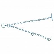 1613STA3102 Obejma naszyjna łańcuchowa 8 mm