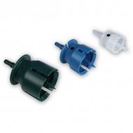 3600203033 Zestaw zatyczek, redukcji czerpaka w 3 rozmiarach: Ø 20, 30, 33 mm (biała, niebieska, zielona)