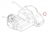 651-04385B Zbiornik paliwa 1.3 GAL