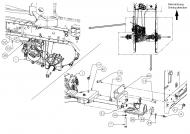 747-05265 Drążek zmiany biegów