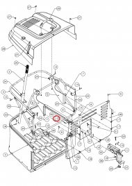 710-1690 Śruba 6-kątna M6X16 Din933 8.8