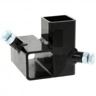 Łącznik narożny standard, lewy, pielnika bocznego do rury 40 x 40 mm