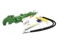 Cięgło hydrauliczne (Kat.3/3) Przegub i CBM Q.R. Hak, średnica cylindra: 90mm, Długość min : 660mm.