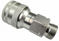 Szybkozłącze hydrauliczne gniazdo M22x1.5 gwint zewnętrzny EURO (9100822G) (ISO 7241-A) Waryński