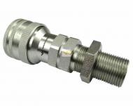 Szybkozłącze hydrauliczne gniazdo long M22x1.5 gwint zewnętrzny EURO (9100822GL) (ISO 7241-A) Waryński