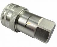 """Szybkozłącze hydrauliczne gniazdo G1/2""""BSP gwint wewnętrzny ISO 7241-A Waryński"""