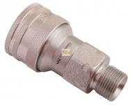 Szybkozłącze hydrauliczne gniazdo M20x1.5 gwint zewnętrzny EURO (ISO 7241-A) Waryński